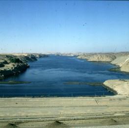 Assuan-Blick nach Norden