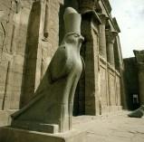 Edfutempel-Horusfalke