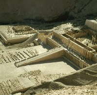 Totentempel-Hatschepsut mit MR-Tempel 1978