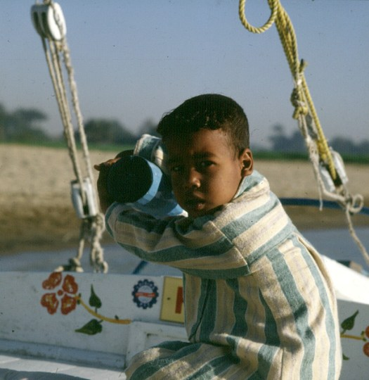 Nil-Morgenfahrt-Skippersohn