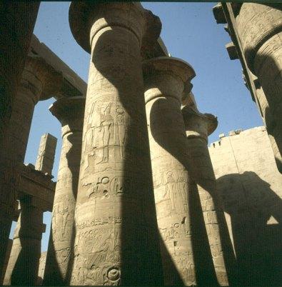 Karnak-großer Saal