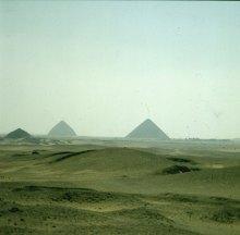 Gizeh-Sakkara-Medum- und Knickpyramide