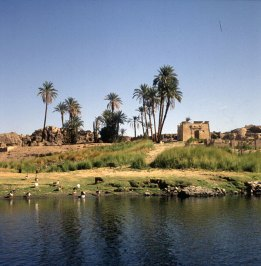 Assuan- Nilinsel Elefantine-MRtempel