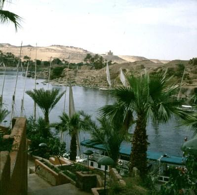 Assuan-Blick vom New Cataracthotel