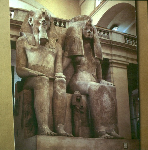 Neukairo Pharaonenpaar