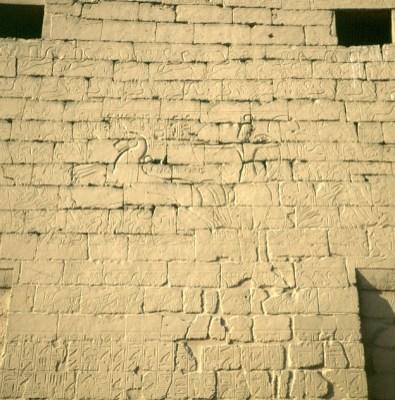 Luxortempel 1.Pylon RamsesII Schlacht bei Kadesch