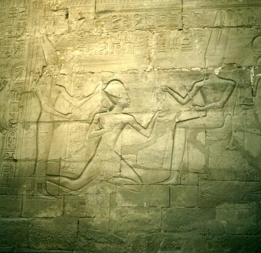Karnak- Sethos opfert