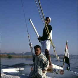 Ägypten Nilfahrt am Morgen