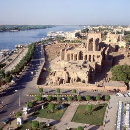 Ägypten Luxor Tempel Nil