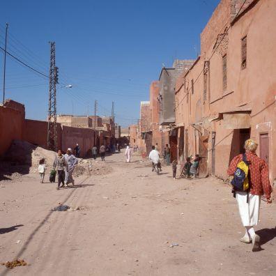 Marokko Marrakesch Gerda 1995