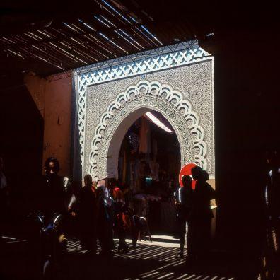 Marokko Marrakesch Stadttor 1995