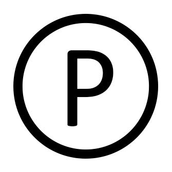 Simbolo di lavaggio a secco con percoloetilene