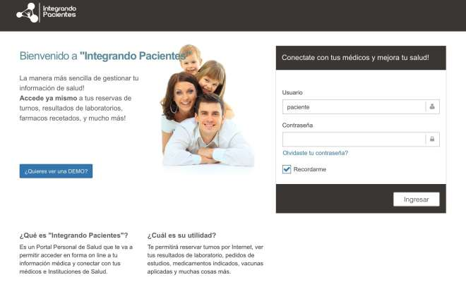 Integrando Pacientes