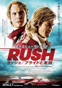 ラッシュ/プライドと友情 ポスター