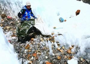 エベレスト ゴミ