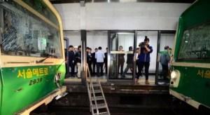ソウル地下鉄事故