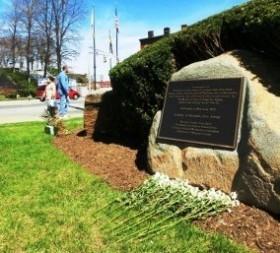 ニュージャージー州ハッケンサック慰安婦碑