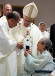 ローマ法王が元慰安婦7人と対面 また世界が慰安婦問題を認識