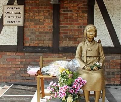 デトロイト・サウスフィールド市・慰安婦の少女像