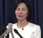 松島法相 辞任会見でも「うちわやカレンダーではない」
