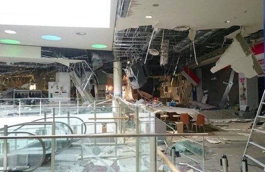 熊本地震・大型店舗・天井崩落被害