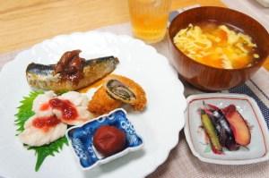 梅干し料理|レッスン|和食|画像