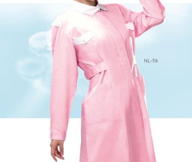 New Style Pink Nurse Dress