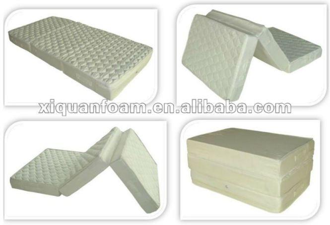 Outdoor Portable Mattress Folding Thin Foam Waterproof