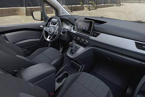 The Kangoo cab is quite modern.  Many driver assistance systems are available, including parking assist, driver alertness monitoring and traffic sign recognition.