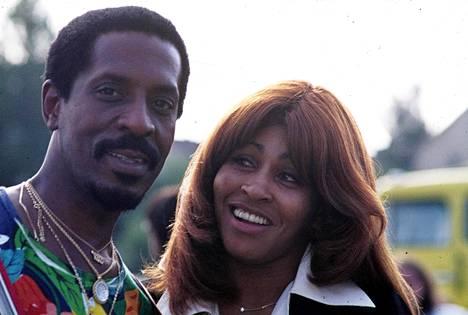 Ike and Tina Turner in Stuttgart, Germany in 1973.