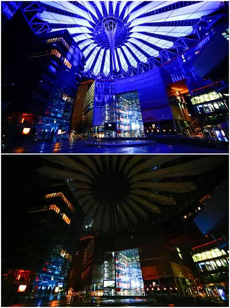 Sony Center in Berlin.
