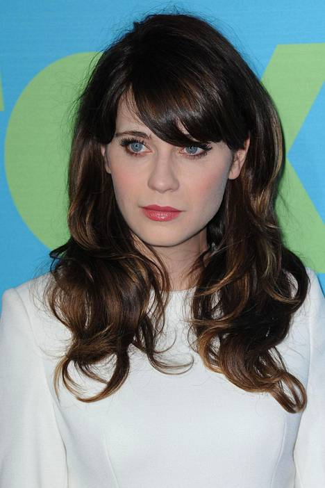 Bangs have been a trademark of Zooey Deschanel for years.