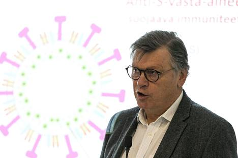 Ilkka Julkunen, Professor of Virology at the University of Turku.