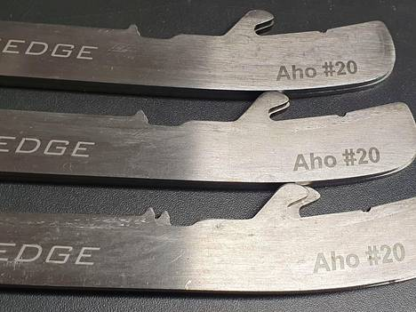 Aho has 60 pairs of blades he uses.