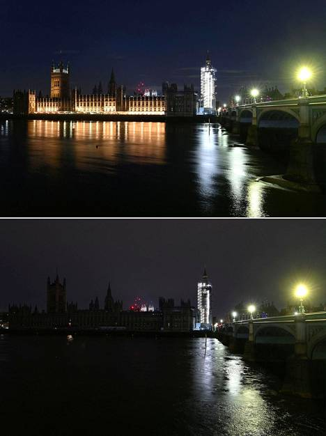 Palace of Westminster in London.
