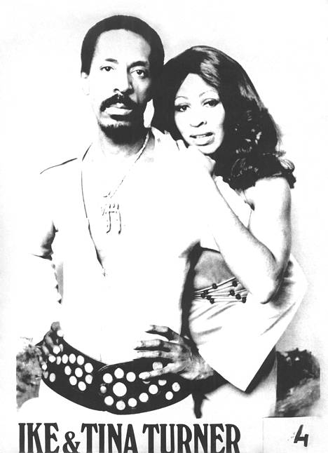 Ike and Tina Turner performed as a duo bearing their names.  In the 60s, the duo rose to international popularity.