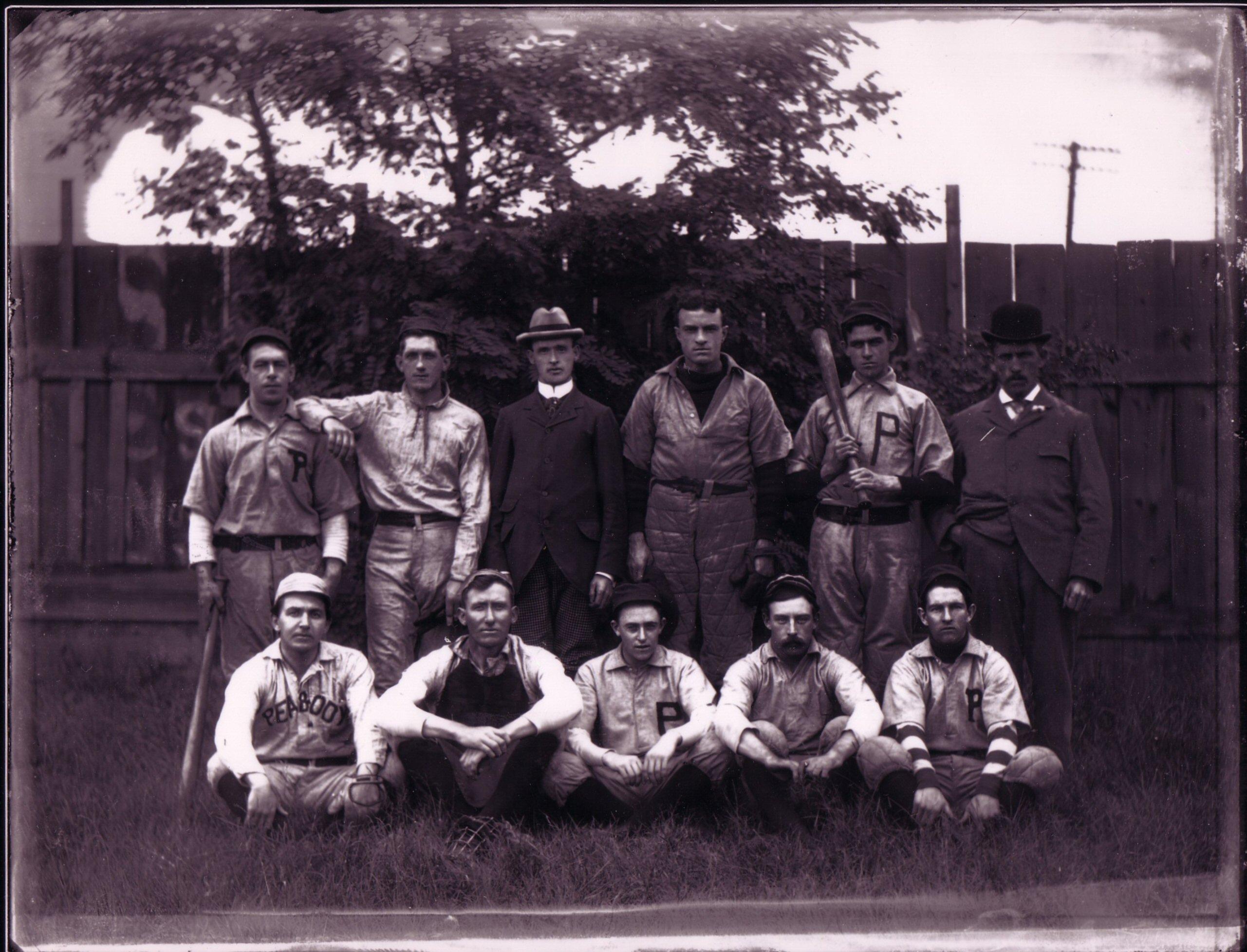 Peabody Baseball Team of 1899