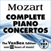 Alfred Brendel, Walter Klien, Peter Frankl, Ingrid Haebler & Martin Galling - Mozart: Complete Piano Concertos (The VoxBox Edition)  artwork