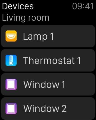 Devices - Control for HomeKit Screenshot