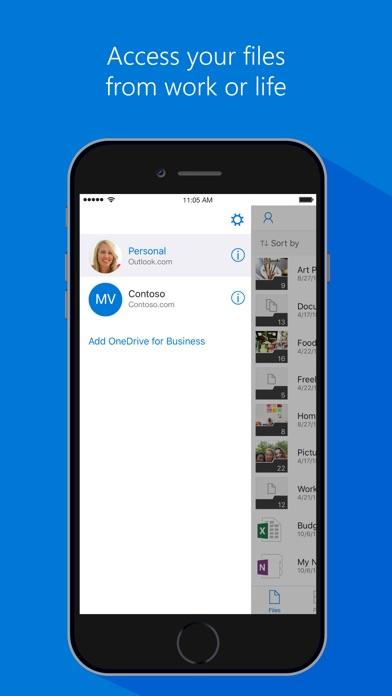 Microsoft OneDrive Screenshot