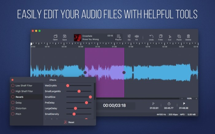 Audio Editor - Merge And Split Screenshot 01 ikzegan