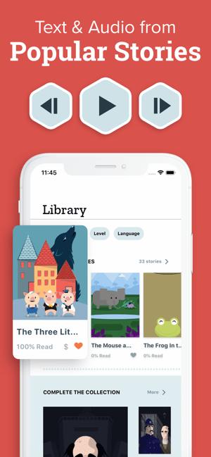 Beelinguapp: Language Learning Screenshot