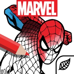 ‎Marvel: Color Your Own
