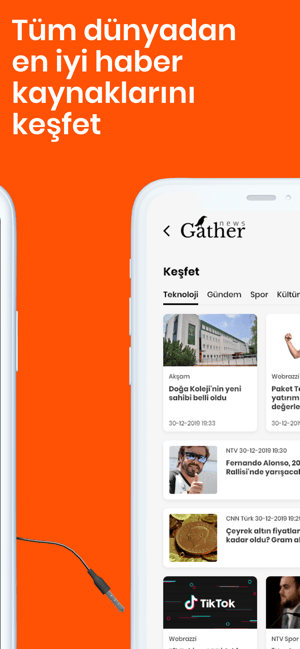‎Gather - Son Dakika Haber Screenshot