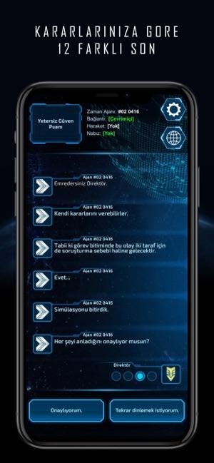 Director Xenite - Hikaye Oyunu Screenshot