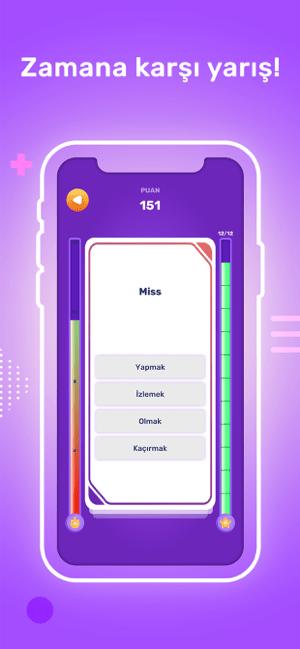İngilizce Kelime Yarışması Screenshot