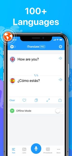 iTranslate Translator Screenshot