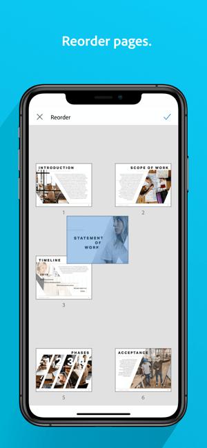 Adobe Scan: PDF & Doc Scanner Screenshot