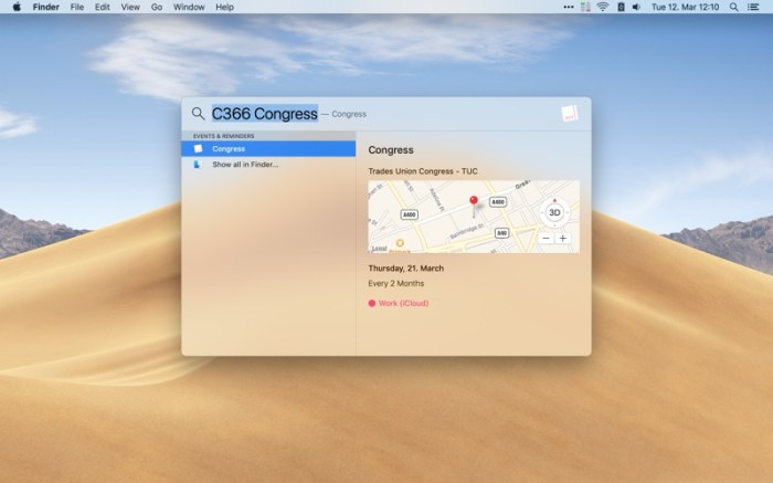 Calendar 366 II Screenshot 06 130gypn