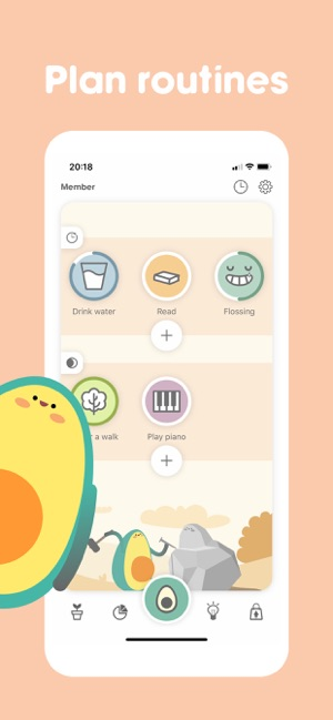 Avocation - Habit Tracker Screenshot